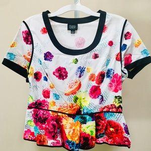 Prabal Garung X Target Peplum Floral Top (14)
